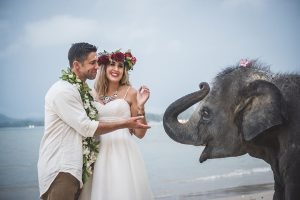 1 Beautiful Thailand Elopement with the Cutest Baby Elephant and traditional ceremony by Wedding Bout
